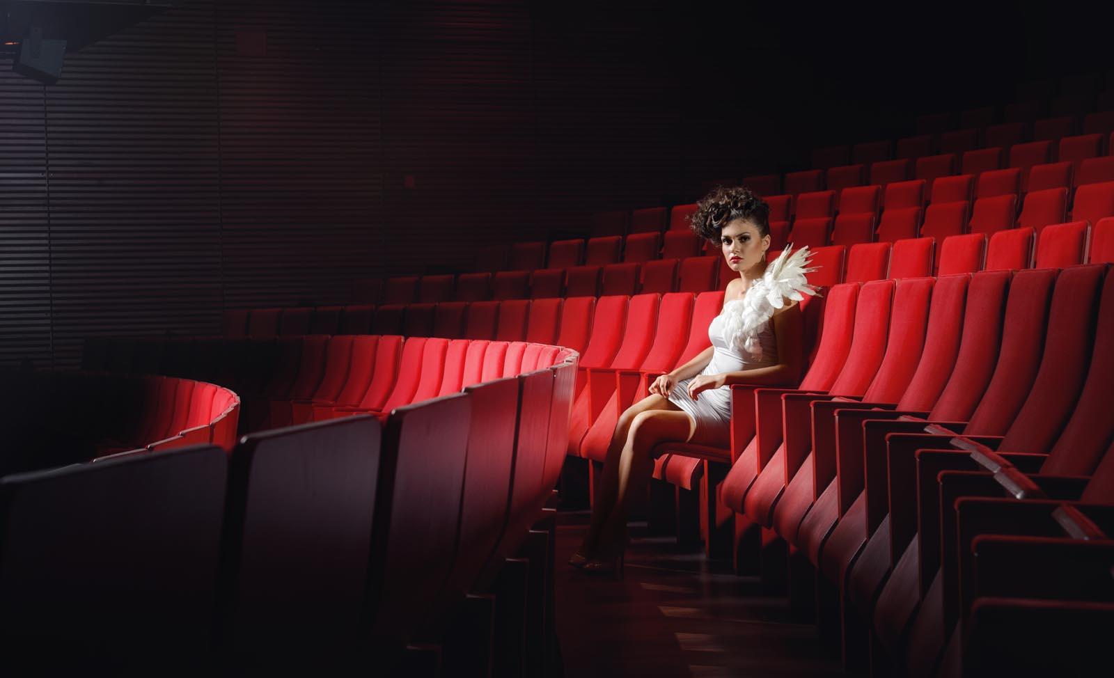 sesja zdjęciowa w Operze Krakowskiej